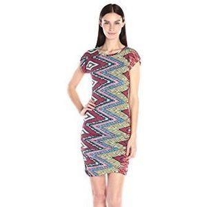 Misa Los Angeles Cyan Dress